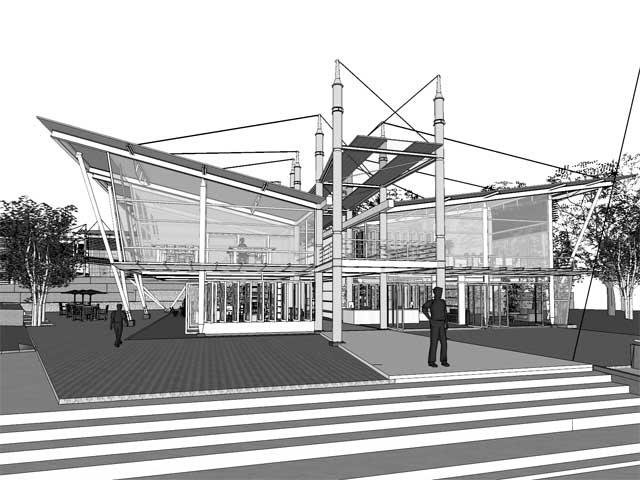 Proyecto centro cultural del caf realizado en moravia for Arquitectos costa rica